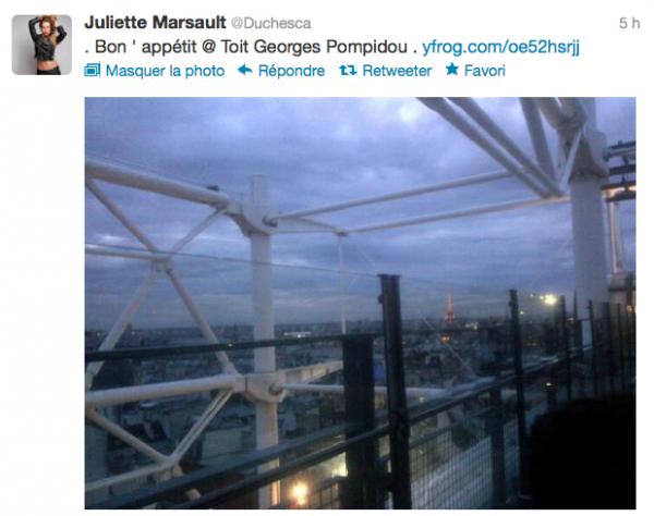 News twitter de juliette 14/06/12 suite