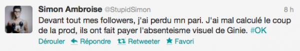News twitter de Simon 23/06/12