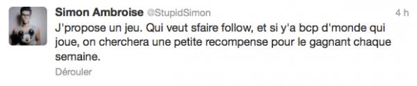 News twitter de Simon 25/06/12
