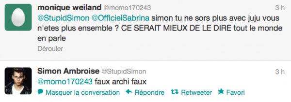 News twitter de Simon 29/06/12