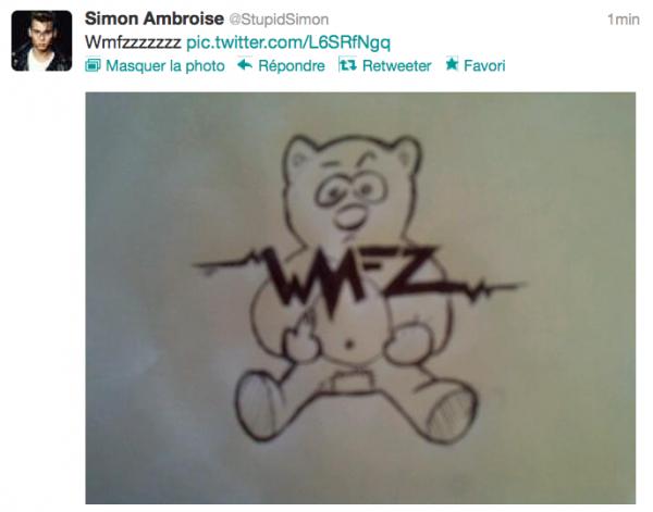News twitter de Simon 12/07/12