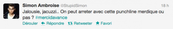 News twitter de Simon 13/07/12