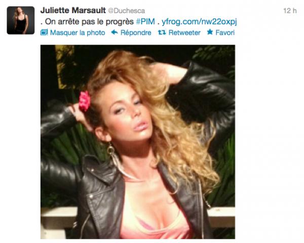 News twitter de juliette 14/07/12