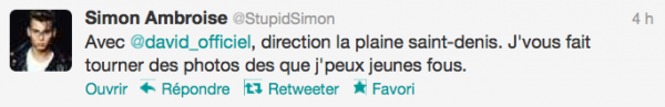 News twitter de Simon 03/08/12