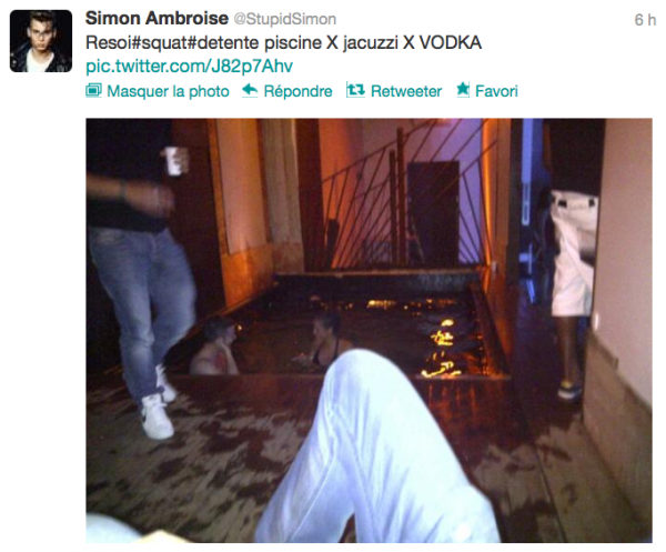 News twitter de Simon 05/08/12