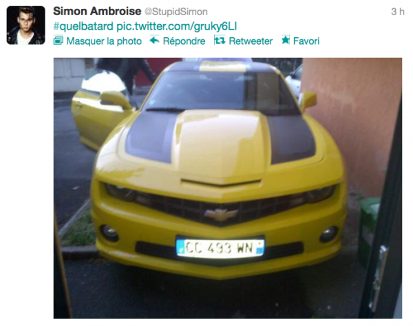 News twitter de Simon 07/08/12