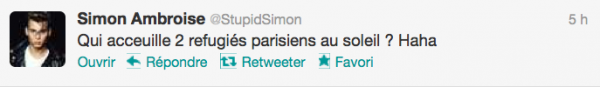 News twitter de Simon 09/08/12