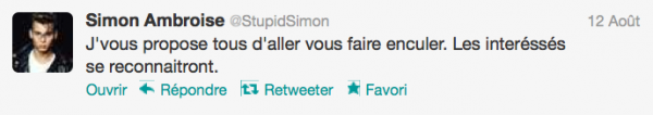 News twitter de Simon 12/08/12