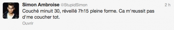 News twitter de Simon 16/08/12