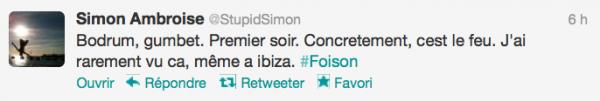 News twitter de Simon 27/08/12
