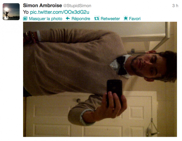 News twitter de Simon 08/09/12