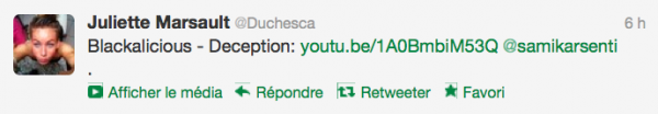 news twitter Juliette 13/09/12 suite