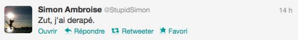 News twitter de Simon 03/10/12