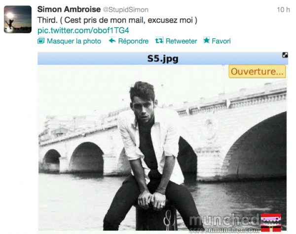 News twitter de Simon 03/10/12 suite