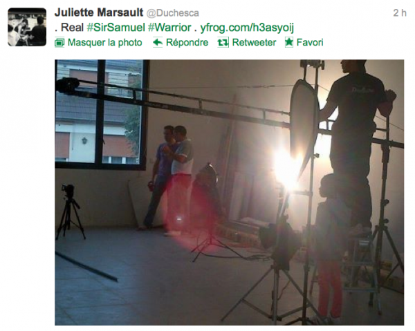 News twitter de juliette 07/10/12