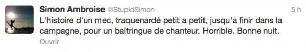 News twitter de Simon 09/10/12