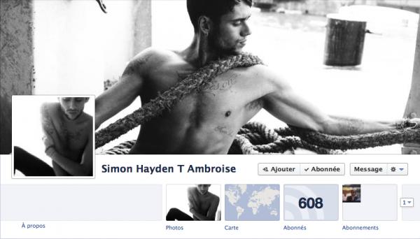 Nouvelle PP de Simon sur FB 12/10/12