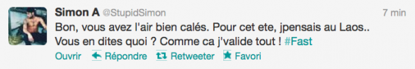 News twitter de Simon 15/10/12