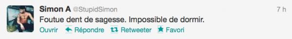 News twitter de Simon 25/10/12