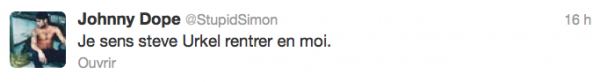 News twitter de Simon 31/10/12
