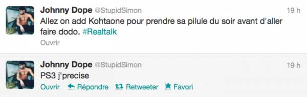 News twitter de Simon 02/11/12