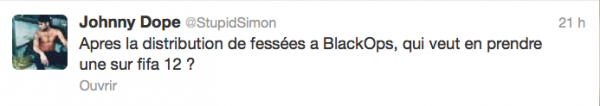 News twitter de Simon 04/11/12