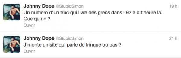 News twitter de Simon 06/11/12