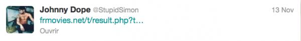 News twitter de Simon 13/11/12