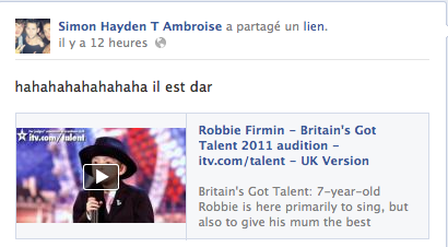 News FB de Simon 21/11/12