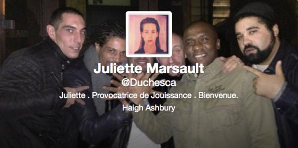 Nouvelle entête Twitter de Juliette 23/11/12