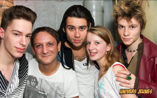 photo de Simon à la soirée Univers Jeunes