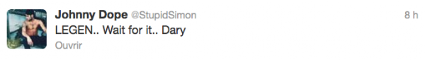 News twitter de Simon 26/11/12