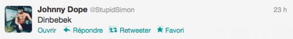 News twitter de Simon 27/11/12