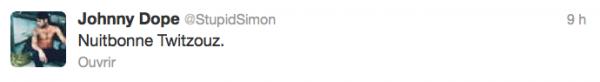 News twitter de Simon 28/11/12