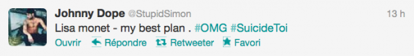 News twitter de Simon 29/11/12