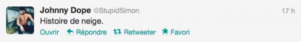 News twitter de Simon 02/12/12