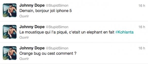 News twitter de Simon 07/12/12
