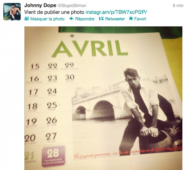 News twitter de Simon 09/12/12