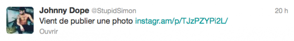 News twitter de Simon 13/12/12