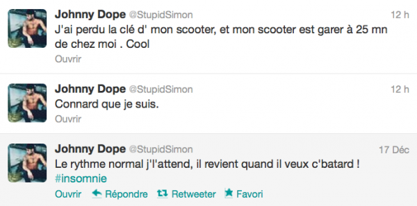 News twitter de Simon 17/12/12