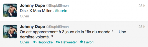 News twitter de Simon 19/12/12