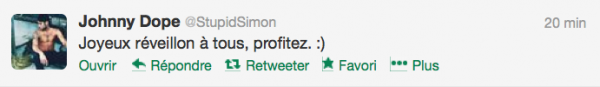 News twitter de Simon 24/12/12