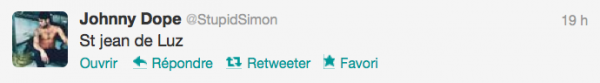 News twitter de Simon 27/12/12
