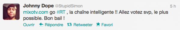 News twitter de Simon 07/01/13
