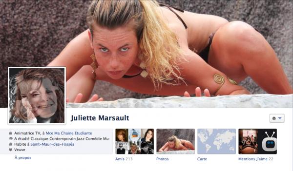 Nouvelle PP et couverture FB Juliette 25/01/12