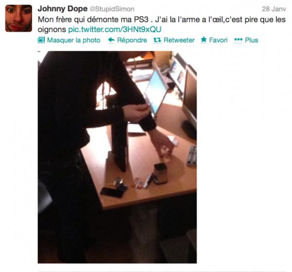 News twitter de Simon 28/01/13