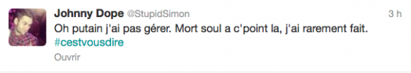 News twitter de Simon 16/02/13