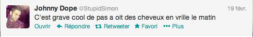 Tweets de Simon (19-22.02)