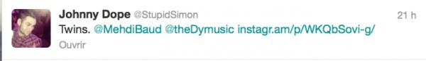 News twitter de Simon 24&25/12/12