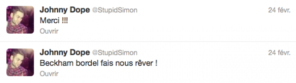 News twitter de Simon 24&25/12/12